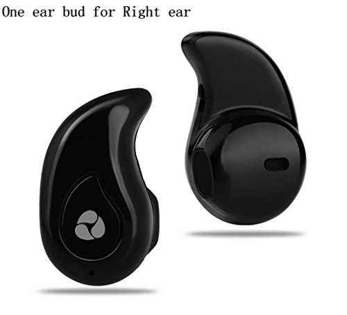 Nocobot Small Wireless Bluetooth 4.0 Invisible Earphone Headset Earbud Support Hands-free Calling For iPhone...