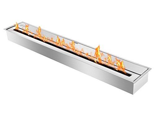 Ignis Eco Hybrid Bio Ethanol Burner Ventless Ethanol Burner Insert EHB4000 (Ventless Corner Fireplace Gel)