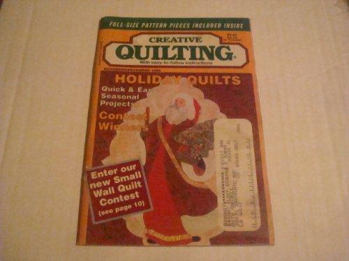 Creative Quilting Magazine November/December 1996 (Volume 11 Issue 3) ()