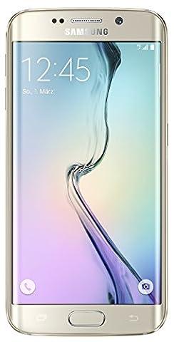 Samsung Galaxy S6 Edge G925F 32GB Unlocked GSM 4G LTE Octa-Core Smartphone - Gold Platinum (Unlocked Samsung S6)