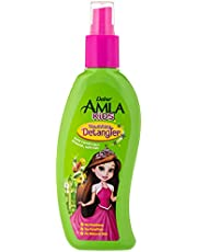 Dabur Amla Kids Detangler; Easy combing for smooth, soft hair ; Enriched with Amla,Olive, Almond; Natural oils, Vitmain E; 200 ML
