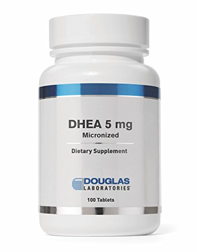 Douglas Laboratories - DHEA 5 mg - Micronized to Support Immunity, Brain, Bones, Metabolism and Lean Body Mass* - 100 Tablets