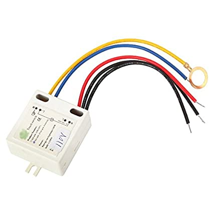 AC 110V 4 Way Dimmer Switch Touch Control Sensor Table Desk Light ...