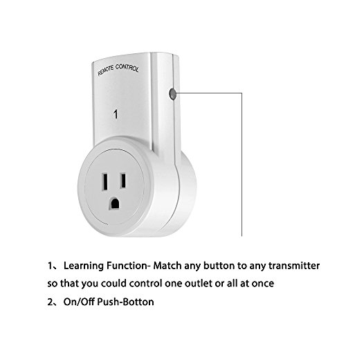 Hi Tech Wireless Remote Control Outlet Smart Electrical