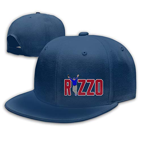 (Moore Me Adjustable Baseball Cap Chicago Rizzo Celebration Cool Snapback Hats Navy)