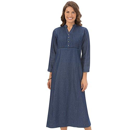 Sleeve Pintuck Dress - 4