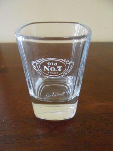 (Jack Daniel's Old No 7 Professional Series Signature Shot Glass - Jack Daniels Signature in Base of Glass)