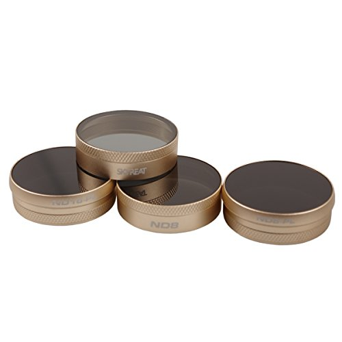 SKYREAT Filters DJI Phantom 4 Pro / Advanced ND Lens Filter 4-Pack