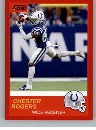official photos 369c3 8185d Amazon.com: 2019 Score Red #59 Chester Rogers Indianapolis ...
