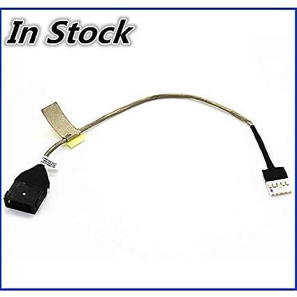 f5e765540589 Amazon.com: ShineBear New Laptop DC Power Jack Cable Charging Port ...