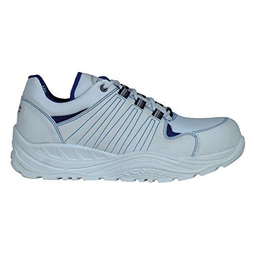 Cofra 55030–002.w45Thai S1P SRC calzature di sicurezza dimensioni 45bianco