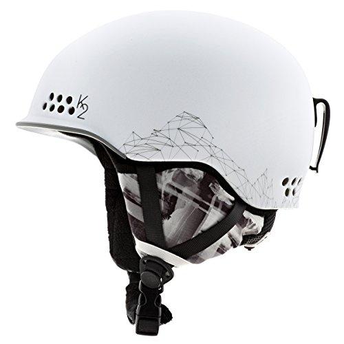 K2 Ally Pro Ski Helmet, White, Small