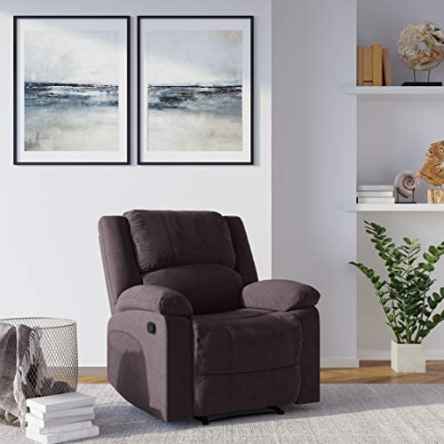 Relax A Lounger Logan Collection Multi-Function Microfiber Recliner Chair