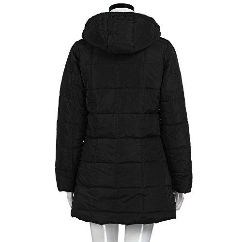 Mujer Chaquetas Invierno Aimee7 De Down Capa Slim Delgada Abrigo Black Mujeres Chaqueta La Larga E5w5rxqH