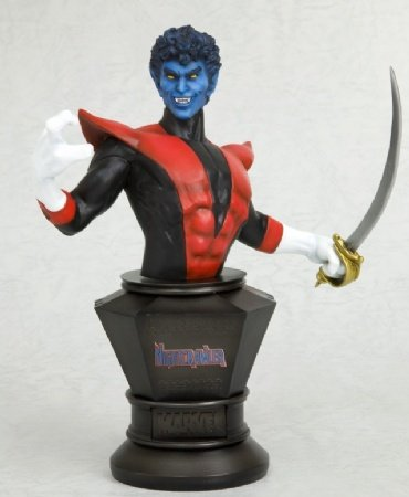 Cyclops Uncanny X-men Costume (Marvel Collection: Nightcrawler Fine Art Bust)