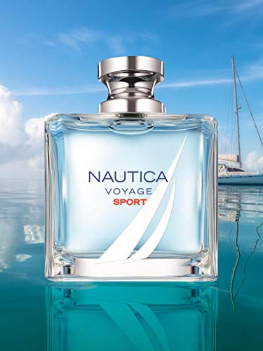 Nautica Nautica Voyage Sport Eau De Toilette Spray 3.4 Oz/ 100 Ml for Men By Nautica, 23 Fl Oz