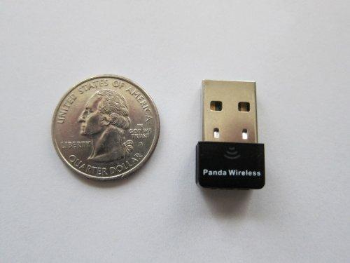 Panda Ultra 150Mbps Wireless N USB Adapter - Windows XP/Vista/7/8/8.1/10, Mac OS X 10.4-10.10, Mint, Ubuntu, Fedora, openSUSE, BackTrack5 R3, Kali Linux and Raspberry Pi 1/Pi 2