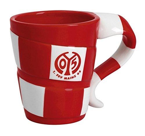 """Tasse """"Schal"""" 1. FSV Mainz 05 Kaffeebecher / Kaffeetasse / Cup / taza"""