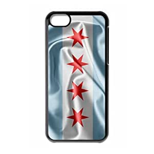Run horse store - Just for You, Chicago Flag picture for black plastic iphone 5c case