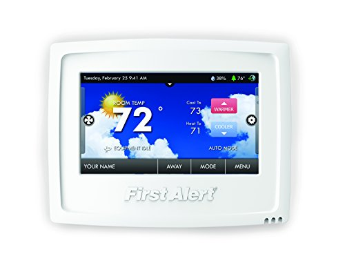 First Alert THERM-500 Onelink Wi-Fi Touchscreen Smart Thermostat