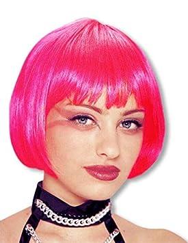 peluca rosa fuerte Pageboy