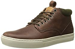 Timberland Men's Adventure 2.0 Cupsole Chukka Boot, Navy/Brown Suede, 10.5 M US