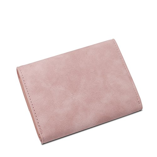 Pelle Credito Piccolo Sintetica Con Porta Portamonete Della Ragazze black Titolare Piccoli Donna Organizzatore Portafoglio Carta Carte Pink In xZwqRIq8