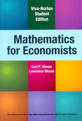 Book Depository MATHEMATICS FOR ECONOMICS by Carl P. Simon (Paperback).pdf