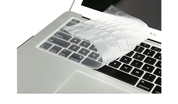 Keyboard Cover Skin Film Silicone for Pro 13//15//17 Protector BU-Clear