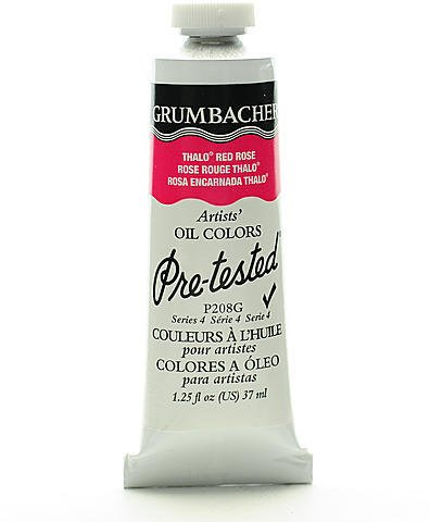 Thalo Red Rose - Grumbacher Pre-Tested Artists Oil Colors (Thalo Red Rose) 1 pcs sku# 1831474MA