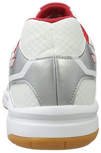 0123 Rouge Asics Upcourt De Pour Sport Blanc Argent blanc Multisport 2 Chaussures Homme qpC7Uw