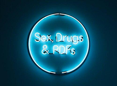 Sex & Drugs grande, edles Neon Neon Cartel lámpara de neón ...