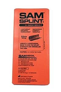 SAM Medical Products Flat Fold Splint (Orange, 9-Inch)