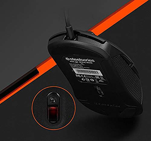 SteelSeries Rival 95 Optical Gaming Mouse - Black/PC Bang Premium Edition, Non LED Ver. of Rival 100