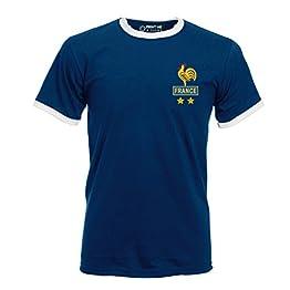 Homme Platini France Football rétro T-Shirt