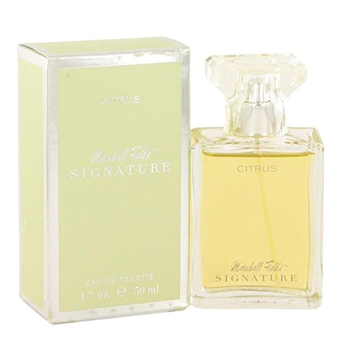 Marshall Fields Signature Citrus by Marshall Fields Eau De Toilette Spray (Scratched box) 3.4 oz for ()