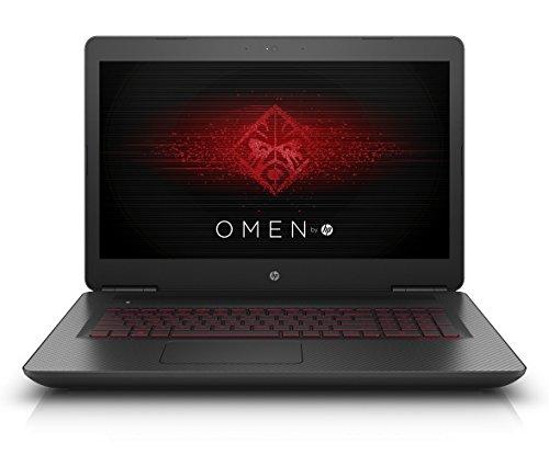 OMEN by HP (17-w106ng) 43,9 cm (17,3 Zoll FHD IPS UWVA) Gaming Notebook (Intel Core i7-6700HQ, 16 GB RAM, 512 GB SSD, NVIDIA GeForce GTX 1070, Windows 10) schwarz