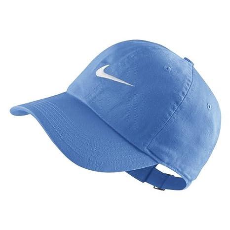 Azul Universitario//Blanco Unisex ni/ños Talla /Única Nike Y H86 Swoosh Gorro