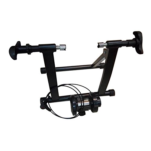 Lovinland Magnetic Resistance Bicycle Trainer Indoor Bike Exercise Stand Machine Black