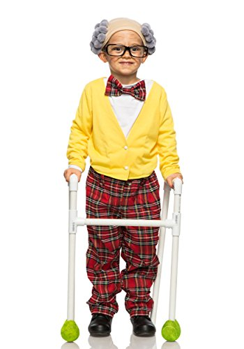 Child Old Man Grandpa Costume (Old Man Costume For Boy)