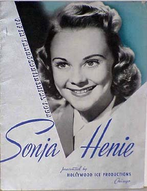 Sonja Henie and Her Hollywood Ice Review. 1941-1942. Fifth Transcontinental Tour Program (Best Hollywood Tours Reviews)