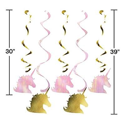 Sparkle Unicorn Birthday Parade Car Decorations Kit: Toys & Games