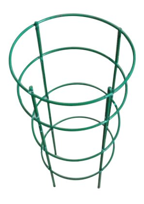 Mr.Garden Plant Cage, Crab Cactus Trellis 9.8'' Dia x 19.5'' H, Green by Mr Garden
