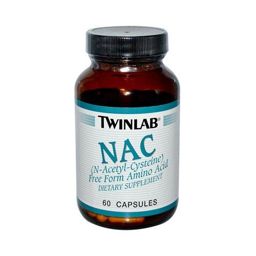 Twinlab NAC N-Acetyl Cysteine 600 mg 60 Capsules