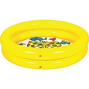 JILONG Fun Piscina Hinchable Redondo, 21 Liters, 61 x 61 x ...