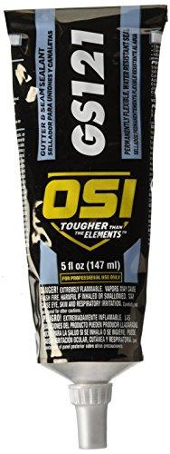 HENKEL Consumer ADHESIVES 1797611 OSI GS121 Aluminum Gutter and Seam Sealant, 5 - Sealants Osi