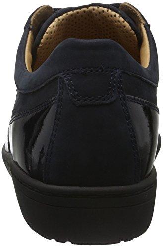 Ganter Anke, Weite G, Zapatos de Cordones Derby para Mujer Azul Marino