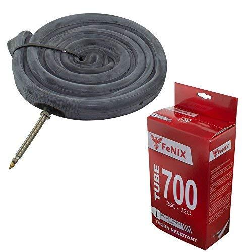 (Fenix 700 x 25c/28c Thorn Resistant 60mm Presta Valve Bicycle Tube)
