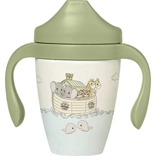 Precious Moments 191455 Noah's Ark Toddler Sippy Cup, Multi (Best Sippy Cups For Toddlers 2019)