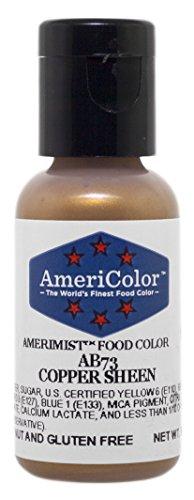 (AmeriColor Amerimist Airbrush Color .65 Ounce, Copper Metallic Sheen)